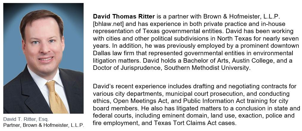 David Thomas Ritter Bio